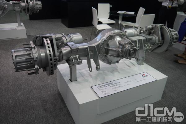 HDZ340单级减速驱动桥