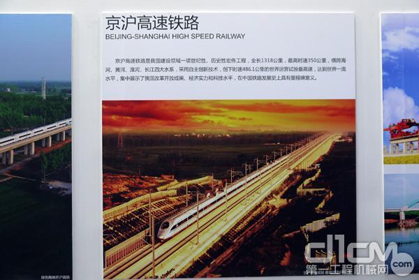 中国铁路四十年成就展现场展示