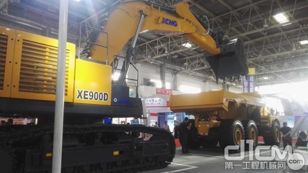 徐工XE900D矿用挖掘机