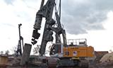 利勃海尔LB 28旋挖钻机视频