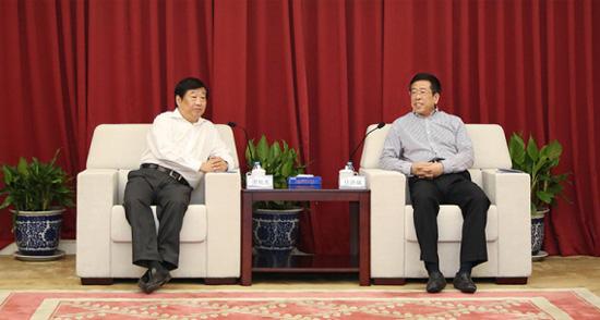国机集团与山东重工集团签署战略合作协议