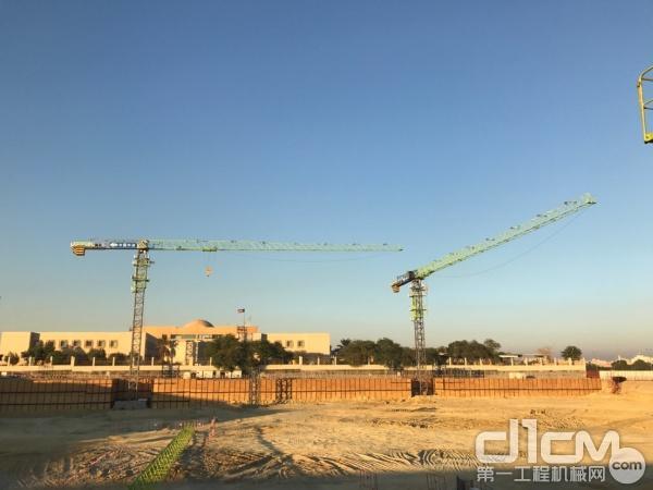 中联重科塔机助力科威特医保医院项目