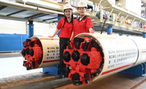铁建重工成功研制出超小直径可回退式管幕机