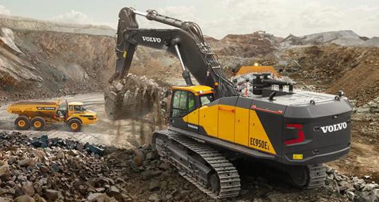 杰出表现 彰显力量 沃尔沃发布EC950E挖掘机