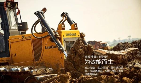 壮观!28台柳工推土机参与滁州明湖拓建项目