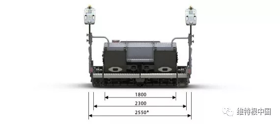 装备 25 cm 加长块的 AB 340 TV