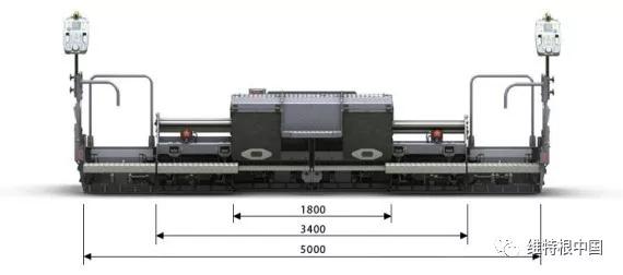装备 80 cm 加长块的 AB 340 TV