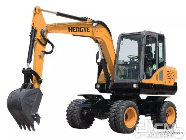 导购:轮挖中的小精灵 恒特HT75W全液压轮式挖掘机