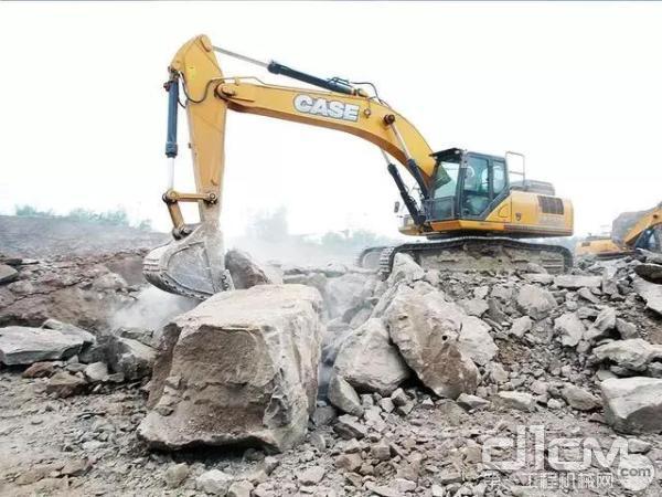 """施工场上的""""姆巴佩"""" 见证凯斯CX380C矿山型挖掘机"""