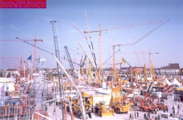 1992年德国宝马展,壮观的欧美日展商集群