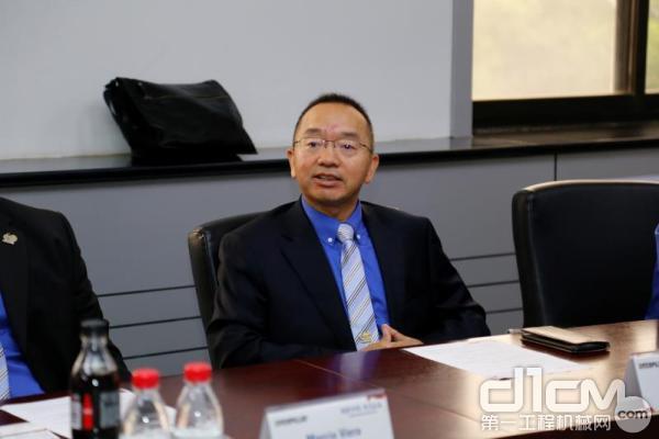 卡特彼勒(青州)有限公司工厂总经理马建平