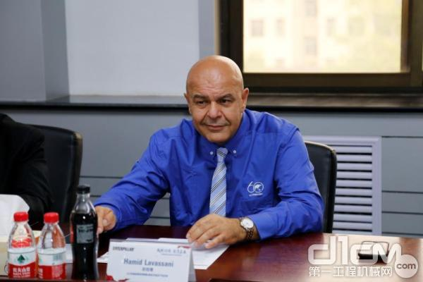 山工机械品牌全球销售及渠道总经理Hamid Lavassani