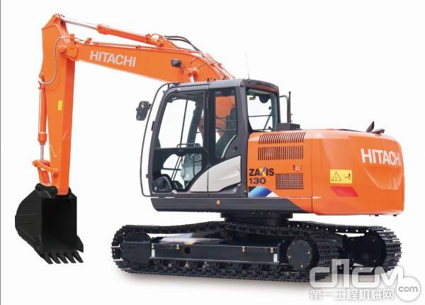 日立ZX130-5A挖掘机工作重量为12.5吨