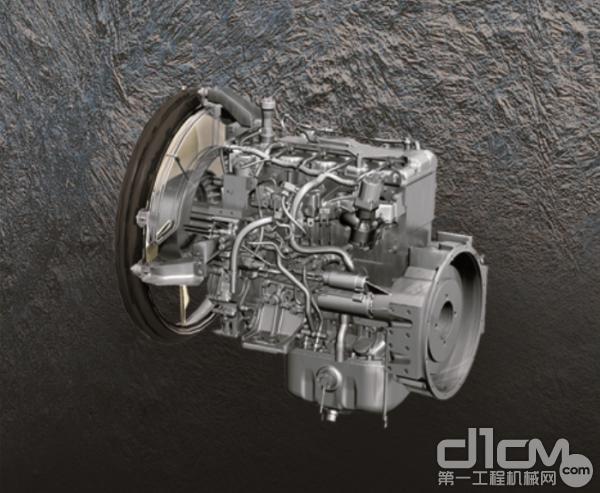 日立ZX130-5A搭载原装进口环保型发动机