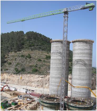 T7020-10H助建以色列水泥储存塔