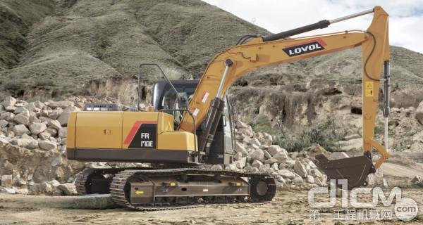 智能雷沃:FR170E 挖掘机——土石兼顾,更胜一筹