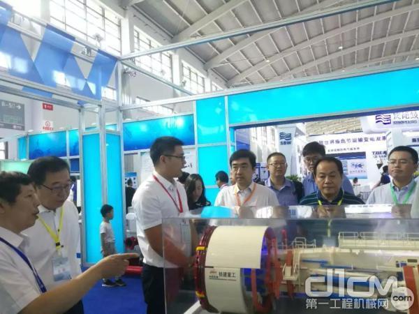 铁建重工参展第十七届中国国际制造业装备博览会