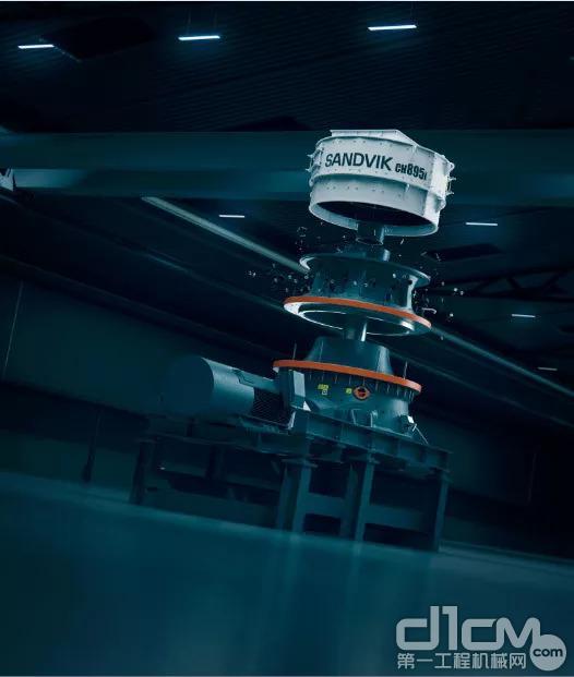 山特维克全新CH800i系列上市—— 创新的互联破碎机