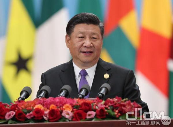 中国国家主席习近平出席开幕式并发表题为《携手共命运 同心促发展》的主旨讲话