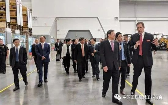 湖南省委书记、省人大常委会主任杜家毫调研三一重工美国公司