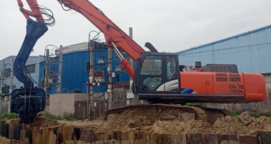 日立建機打樁機為客戶提供全方位服務