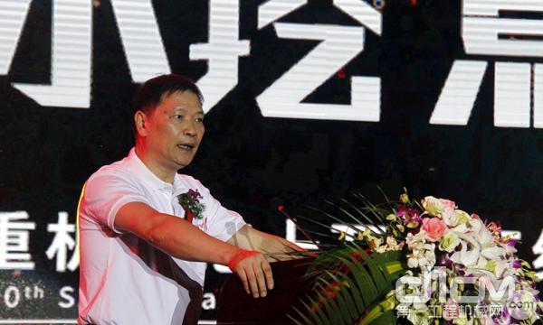 三一集团董事、三一重机董事长俞宏福先生致辞