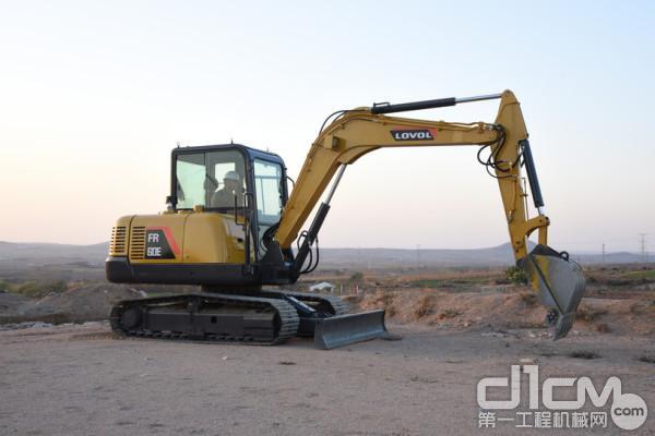 FR60E<a href=http://product.d1cm.com/wajueji/ target=_blank>履带挖掘机</a>