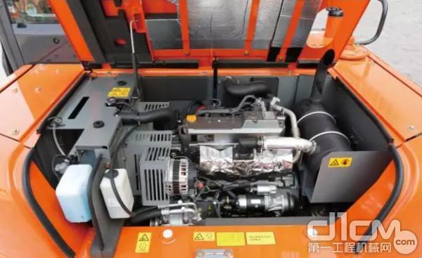 新型ZX70-5A搭载了环保型发动机,废气排放符合京三排放标准