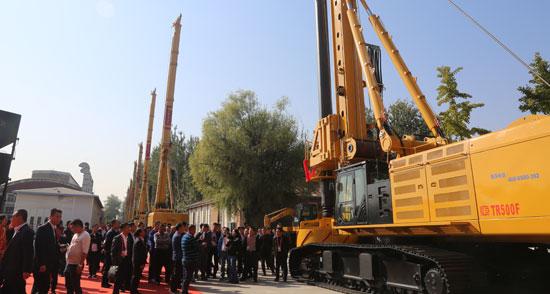 北京中车重工举行第1500台旋挖钻机成功下线仪式