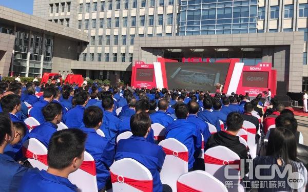 安徽叉车建厂60周年庆典现场