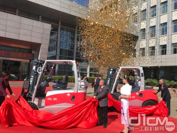 第五代全新品——G3系列叉车揭幕