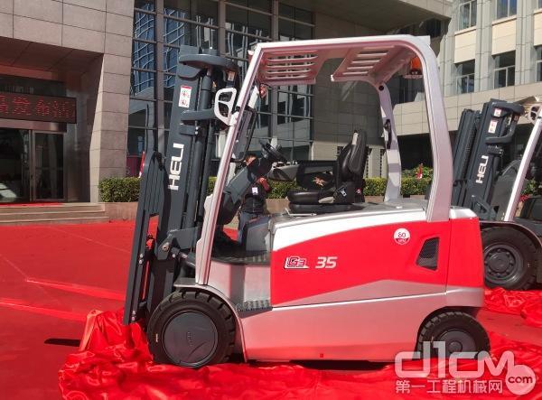全新一代G系列3.5T前轮电驱平衡叉车
