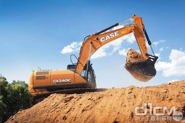 凯斯CX240C履带式<a href=http://product.d1cm.com/wajueji/ target=_blank>挖掘机</a>