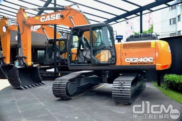 凯斯CX240C履带式挖掘机