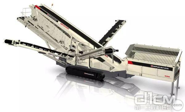 NFS350履带移动筛分设备
