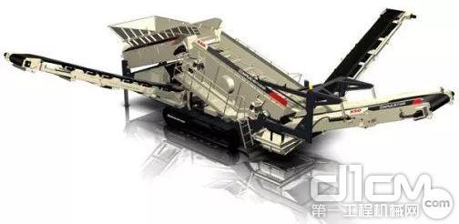 NFS550履带移动重型倾斜式筛分设备