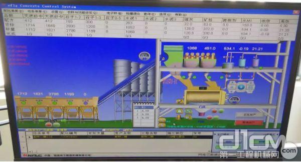可选配主机智能化监控系统,使搅拌主机的整个搅拌生产过程清晰可见一目了然