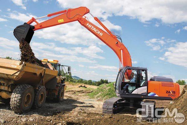 日立20吨挖掘机有啥配置