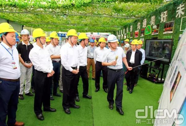 柳工助力海沧隧道项目