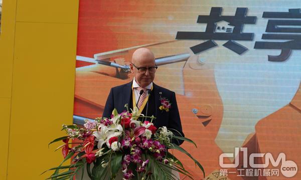 沃尔沃建筑设备中国投资有限公司董事长安德森