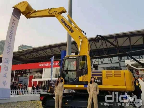 小松正式发布PC215-10M0新品挖掘机