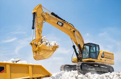Cat®(卡特)345 GC液压挖掘机