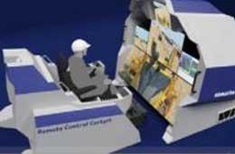 小松携未来建筑工地搭建新技术