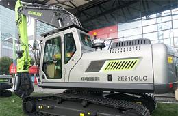 03中联ZE210GLC新一代挖掘机
