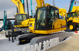 山推SE135W挖掘机