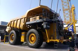 高原型电传动矿用自卸车XDE240