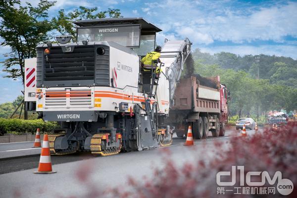 新型维特根大型铣刨机:纯正德国技术,专为中国市场打造