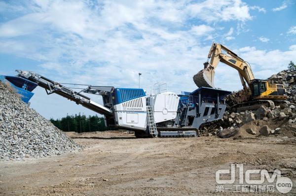 克磊镘移动颚式破碎设备MC 120 Z PRO 亮相中国 bauma 展
