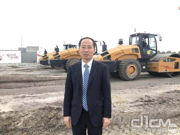 三一重工路机研究院院长刘秋宝