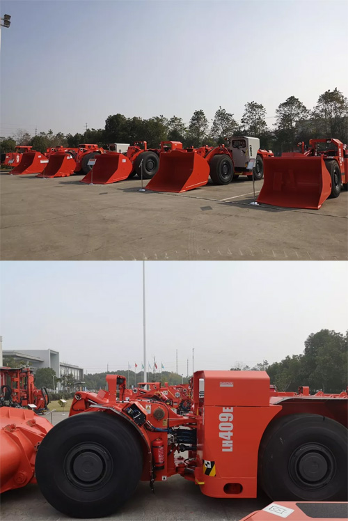 中国市场应用的<a href=http://product.d1cm.com/chanyunji/ target=_blank>铲运机</a>全系上阵